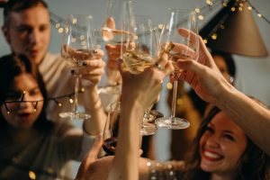 As a host or having a work party, consider getting liquor liability insurance